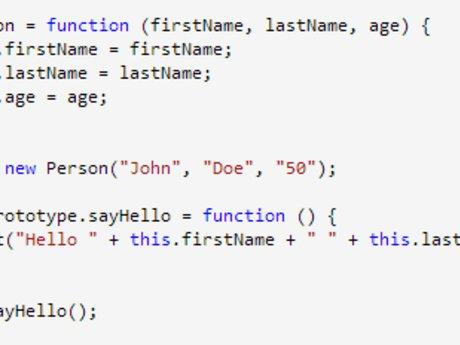 JavaScript Programming Lessons