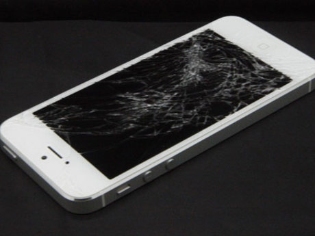 Repair cracked phone screens