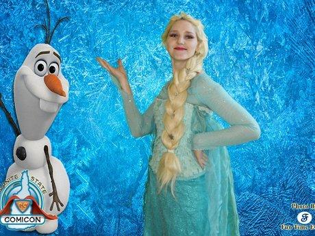Elsa for parties/charities