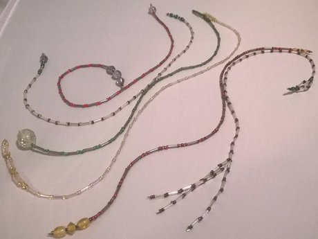Beaded or Leather Bookmark Creation