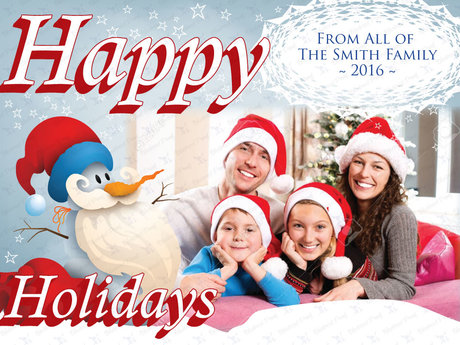 X-Mas photo card E-Card  (Digital)