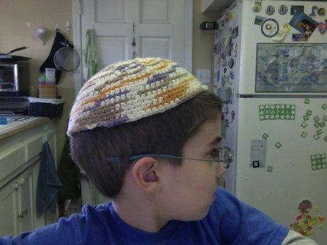 Crochet Kippa / Yarmulke