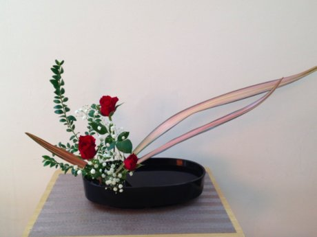 Basics of Japanese flower arranging
