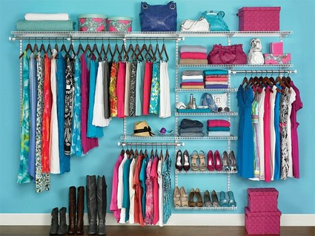 Organize or remodel any closet, or