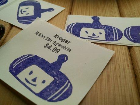 Katamari prince stickers (2)