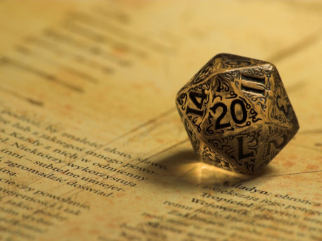 Dungeons and Dragons game master.
