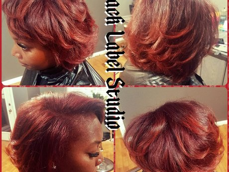 All over single hair color