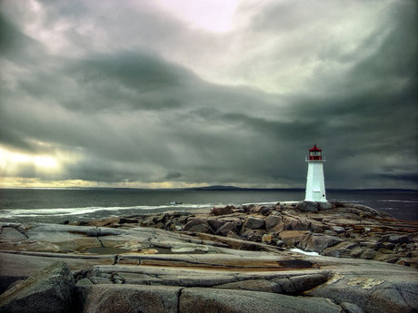 Peggys Cove Photograph