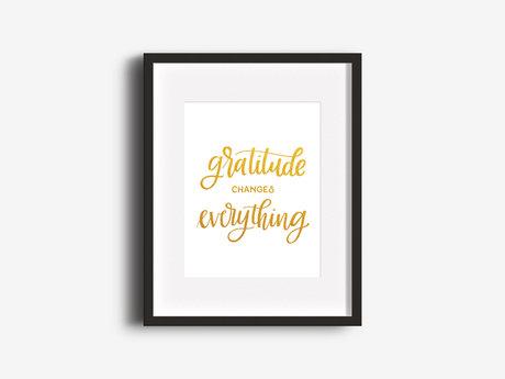 """Gratitude"" 8x10 Print"