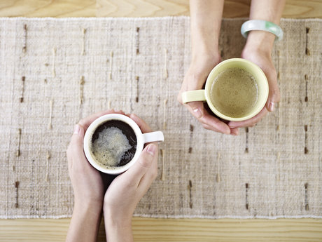 Grab a cup of coffee and talk