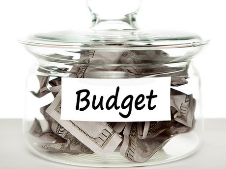Fix a monthly budget for 3 months o