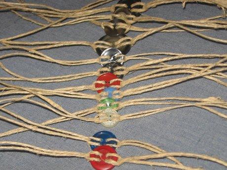 Tie-On Button Bracelet (Random)