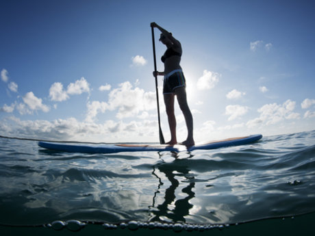 Beginner's Paddle boarding Lessons