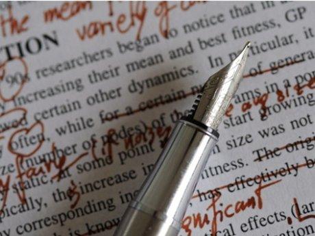 Paper/resume editing