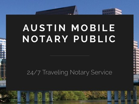 Traveling Notary Public
