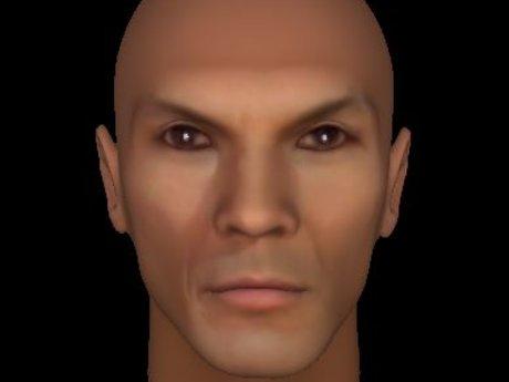 Make a 3d model of person's head