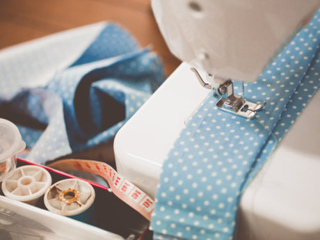 Sewing- costumes, curtains, clothes