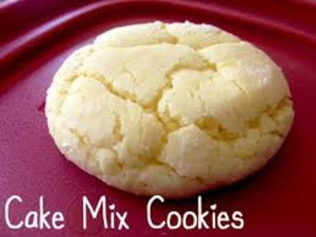 Super easy Cake Mix Cookies Recipe