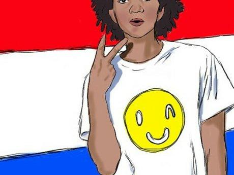 Colored Cartoon Digital Portraits