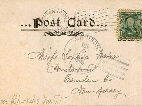 I'll Send You A Postcard w/ A Msg