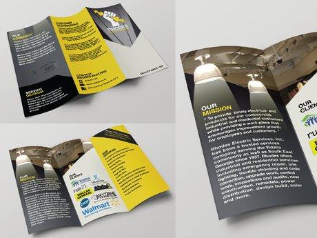 Design a flyer or brochure