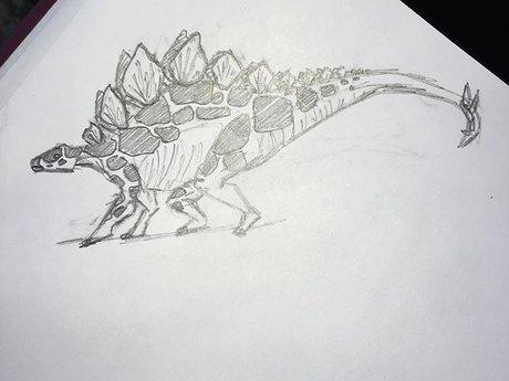 Dinosaur researcher