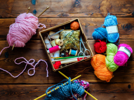 Crochet and knitting lessons
