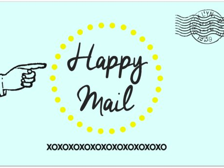 Send some love- snail mail style