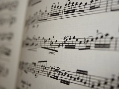 Write sheet music for your song