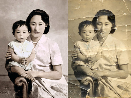 Photo Restoration & Print Optimize