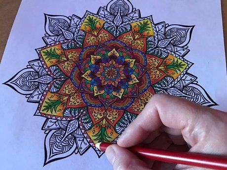 I'll Draw You A Random Mandala!