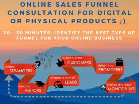 30 min Online Sales Funnel Consult
