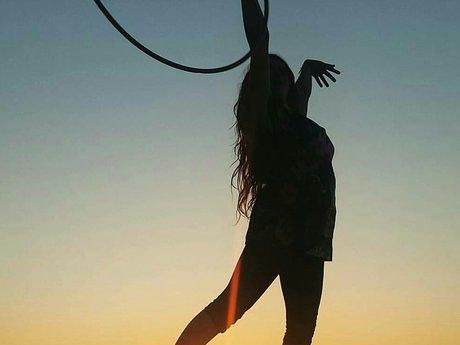 30 minute basic hula hoop skills