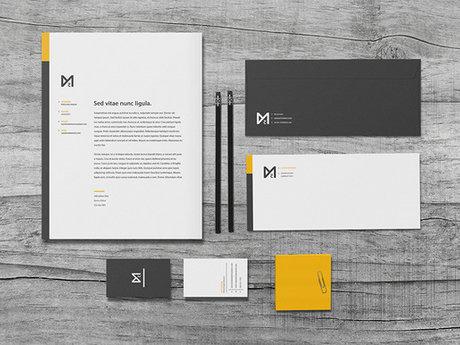 Custom Stationery Set Design