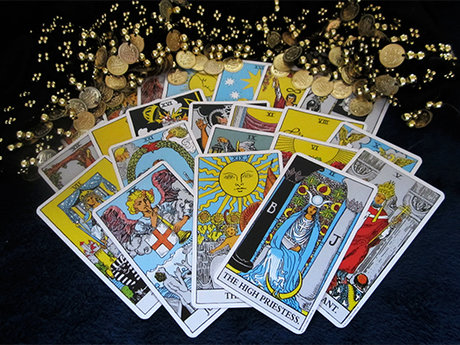Spells, tarot, pendulum reading etc