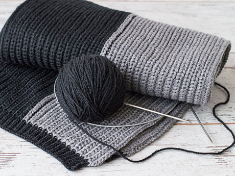 I can knit a scarf for you