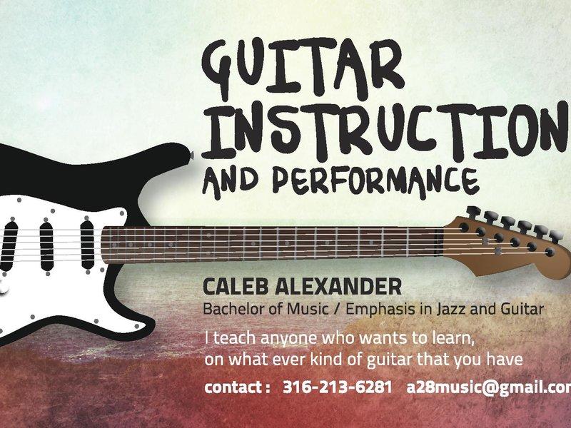 30 Minute Guitar Lesson - Caleb Alexander - Simbi