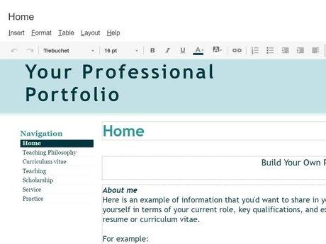 Digital Portfolio Consultation