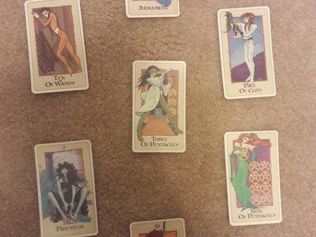 6 Card Tarot Reading