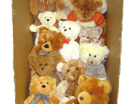 Will send 1 stuffed animal in a box