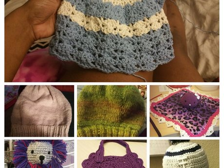Custom knitted items