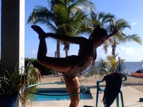 Hula Hoop Dance Instruction