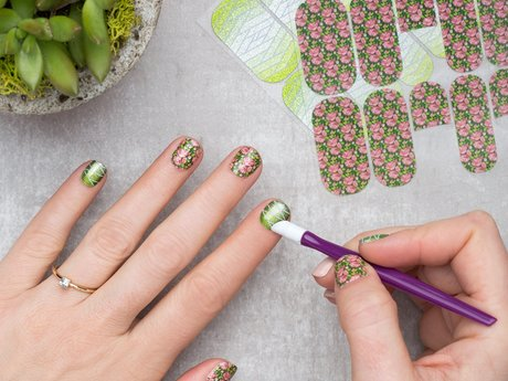 Jamberry Nails tutorial/application