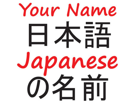 Translate your name in Japanese