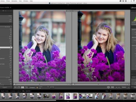 Photoshop/Lightroom Help (30 min)