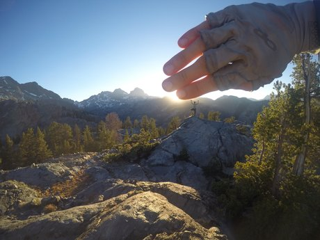 1 hour: Hiking the John Muir Trail