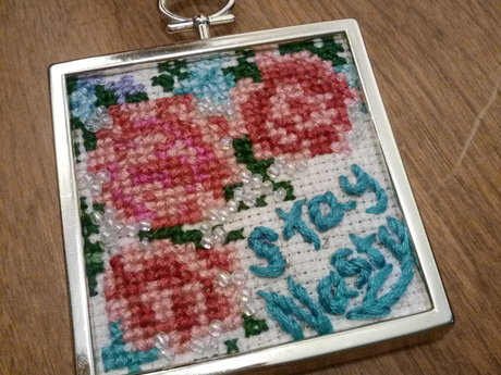 Stay Nasty Embroidery