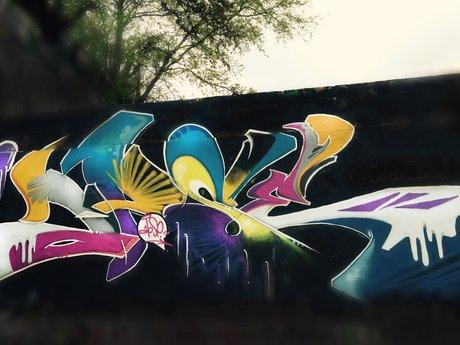 Graffiti & Street Art Murals