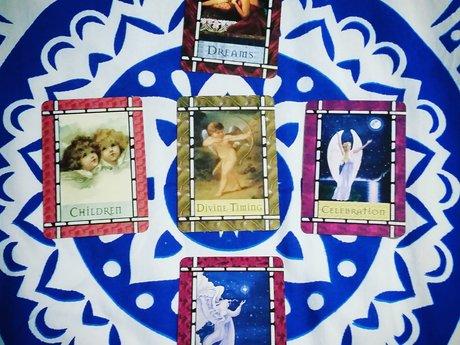 Virtual Angel Card Reading