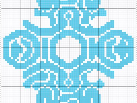 Custom-made Cross Stitch Pattern